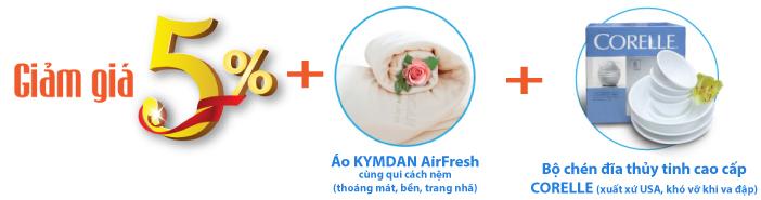 Nệm Kymdan giá cực tốt free ship TPHCM, Hà Nội, Bến Tre, Đà Nẵng, Cần Thơ, Nha Trang, An Giang. - 7